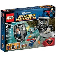 76009 Super Heroes Superman Black Zero