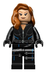 lego super heroes black widow minifigure