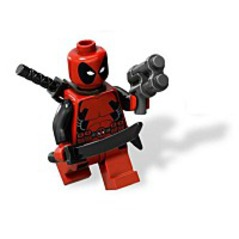 Marvel Super Heroes Deadpool Minifigure