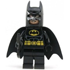 Super Heroes Black Batman Mini Figure