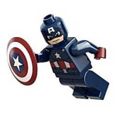 Super Heroes Captain America Minifigure