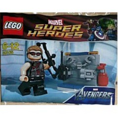 Super Heroes Hawkeye With Equipment