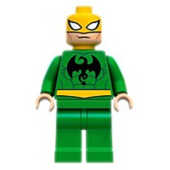 Super Heroes Iron Fist Minifigure