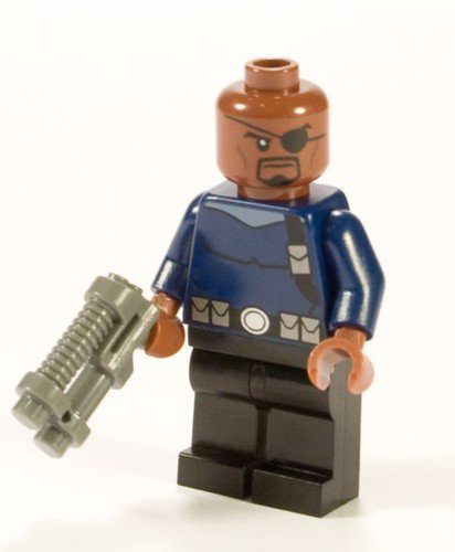 Super Heroes Nick Fury Minifigure