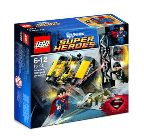 Lego Super Heroes 76002 Superman Metropolis Showdown